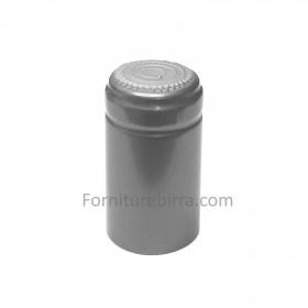 Capsula termoretraibile D.31mm Argento lucido