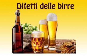 I Difetti delle birre