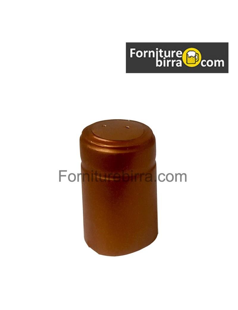Capsula termoretraibile D.31mm Argento lucido 100pz