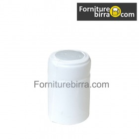 Capsula termoretraibile D.31mm Bianco opaco 100pz