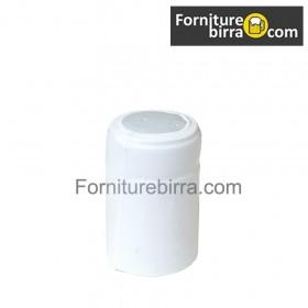 Capsula termoretraibile D.34mm Bianco Opaco 100pz