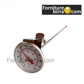 Termometro bimetallico a clip