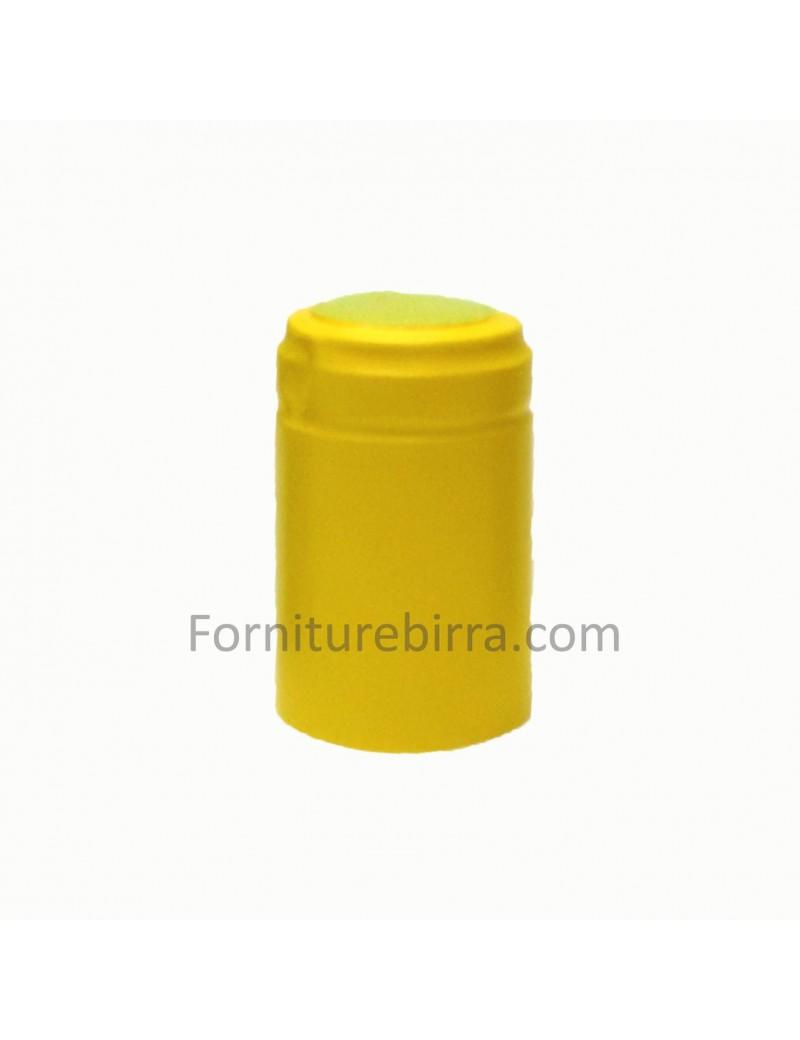 Capsula termoretraibile D.34mm Giallo opaco