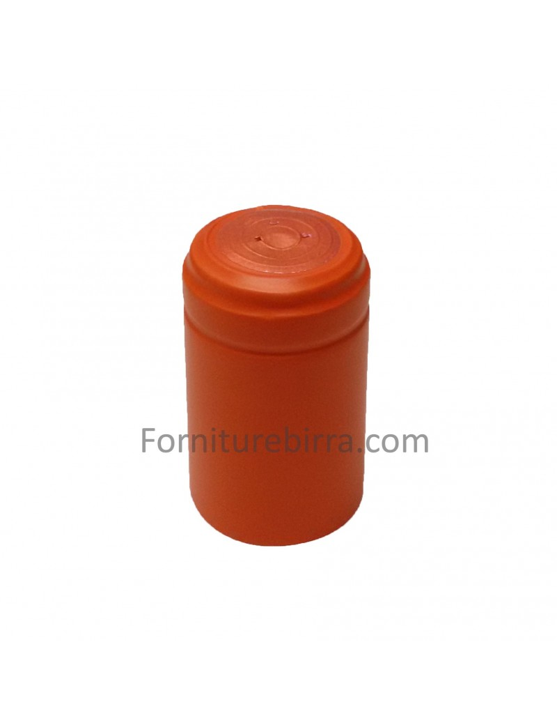 Capsula termoretraibile D.34mm arancio