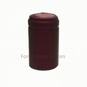Capsula termoretraibile D.34mm Bordeaux opaco