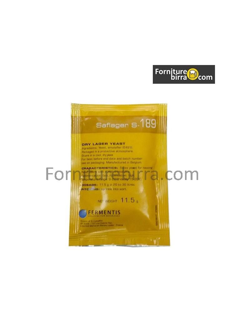 Fermentis Saflager S-189 gr 11,5