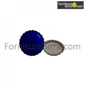 Tappi corona d. 29mm Colore Blu 200pz
